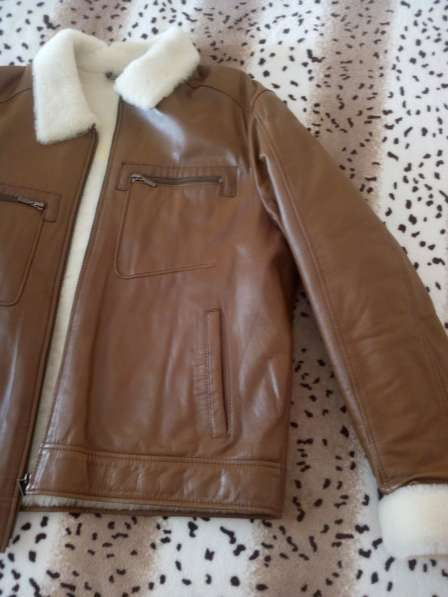 Кожанная куртка на меху в Югорске