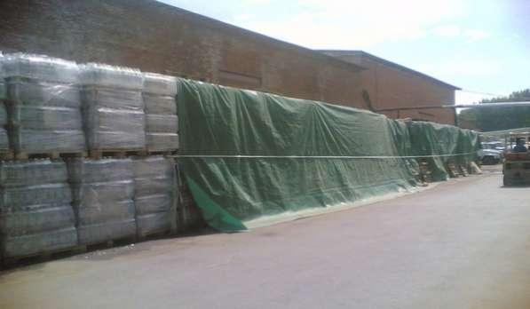 Тарпаулиновый тент для стройки в Екатеринбурге фото 12