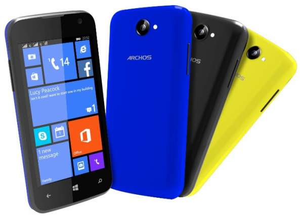 "Продам 4"", 4 ядра, смартфон Archos Cesium 40, os Windoows 8"