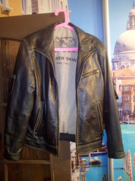 Продам 2кожанные куртки