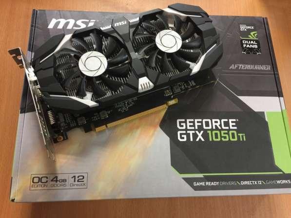 Мощная игровая видеокарта Nvidia GTX 1050TI 4GB