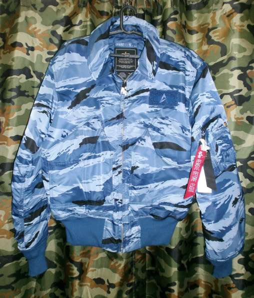 Куртка бомбер Alpha Industries CWU-45