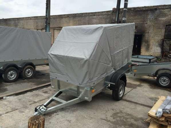 Легковой прицеп 2,4х1,3м ССТ-02 Тент АЭРО