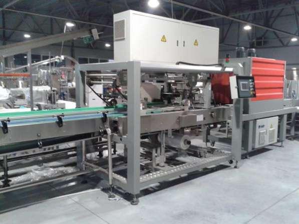 Автоматическая термоусадочная машина групповой упаковки