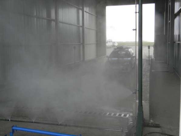 Дезинфекционный барьер для Автотранспорта (Дезбарьер)