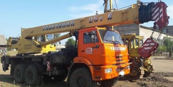 Продам автокран 25 тн; 28 м;вездеход КАМАЗ; 2012 г/в