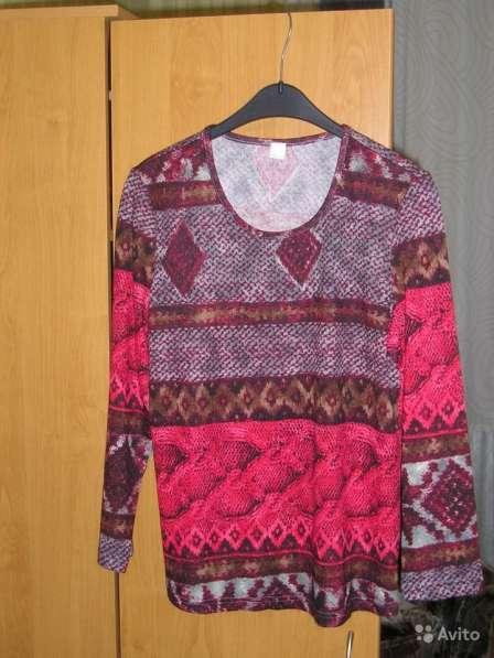 Пуловер коричнево-красного цвета. Новый
