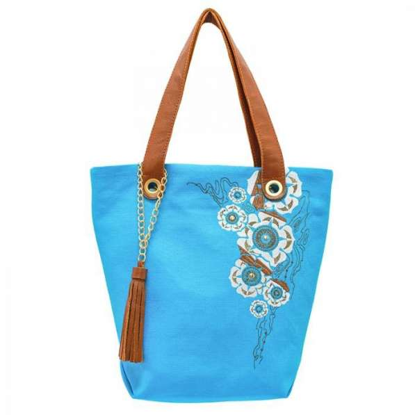 Эксклюзивные женские сумки ручной работы из льна,джинсы,кожи в Москве фото 3