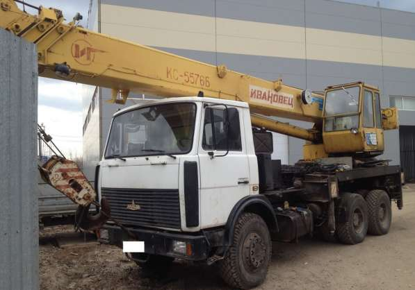 Автокран Ивановец кс-5576Б, 32 тн, на Мазе