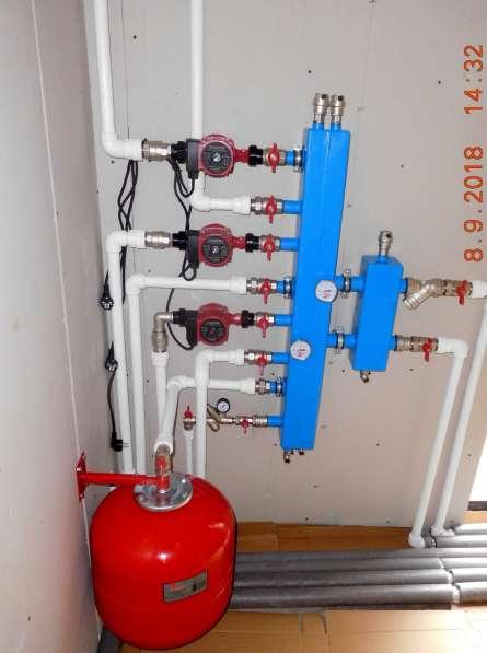Монтаж систем отопления, водоснабжения, канализации в Омске фото 3