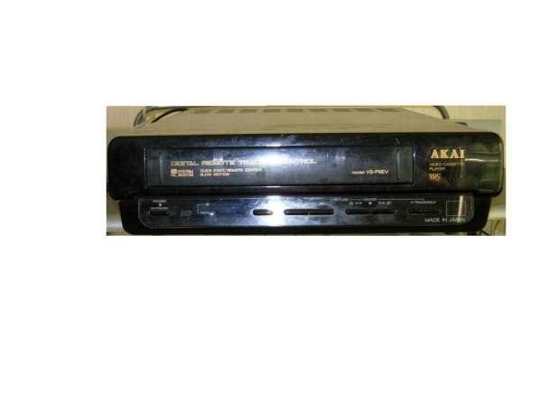 Кассетный видео плеер AKAI, made in Japan
