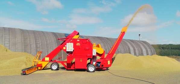 Передвижной комплекс для зерна в наличии