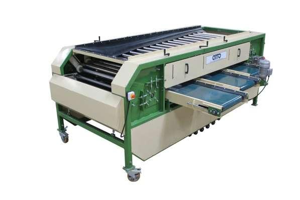 Оборудование для калибровки картофеля и овощей по размеру