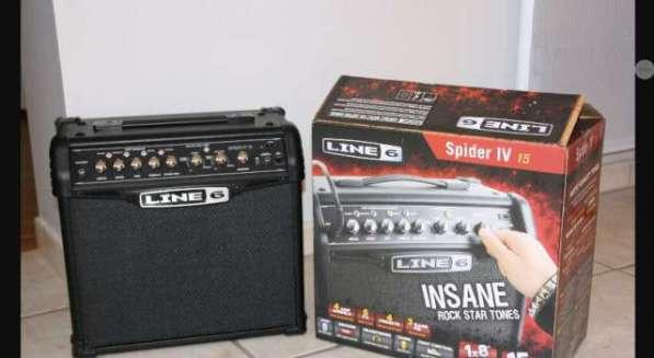 Комбоусилитель для гитары Line6 Spider iv 15
