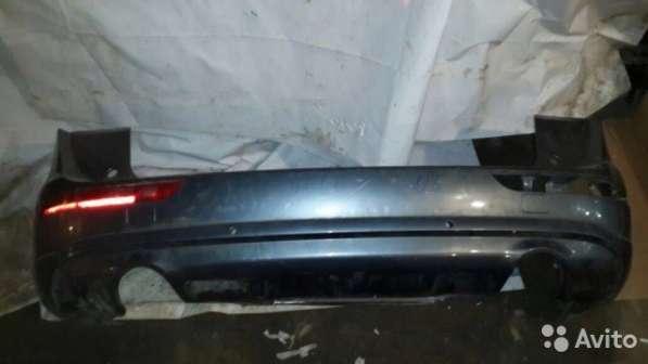 Бампер задний на Audi Q5