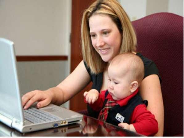 Удаленная работа для мамочек в декрете