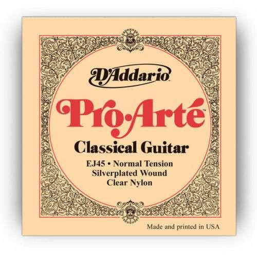 Струны нейлон. D'Addario EJ-45 для классической гитары