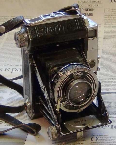 Антикварный фотоаппарат Welta