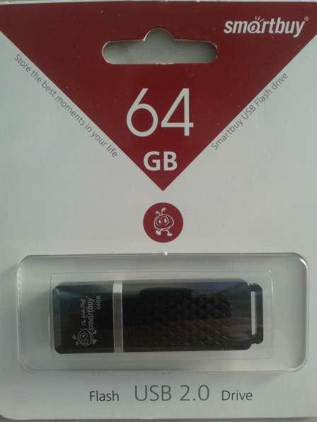 Флешка USB 64Гб Quartz Новая