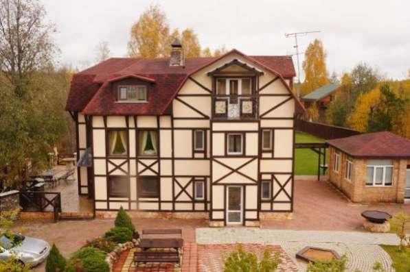 Большой, красивый дом с неповторимым авторским дизайном, п. Сосново