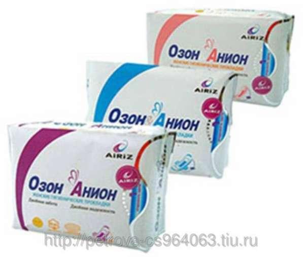 Гигиенические оздоровительные прокладки для женщин