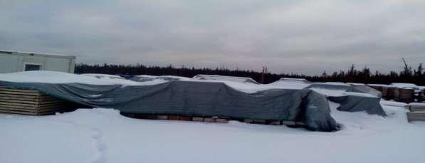 Тарпаулиновый тент для стройки в Екатеринбурге фото 16
