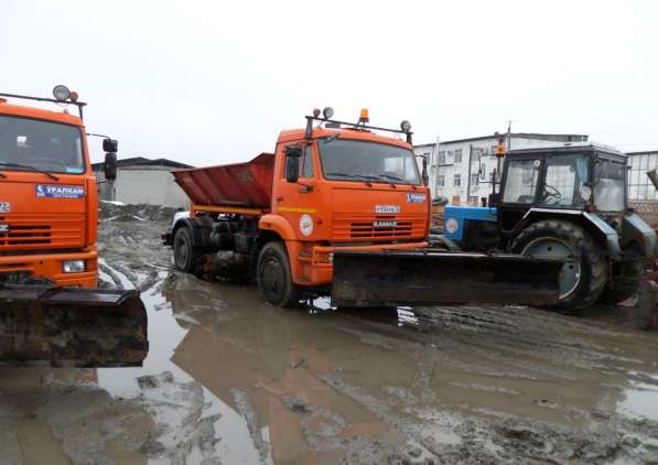 Машина комбинированная на базе КАМАЗ 53605 КО-829Д