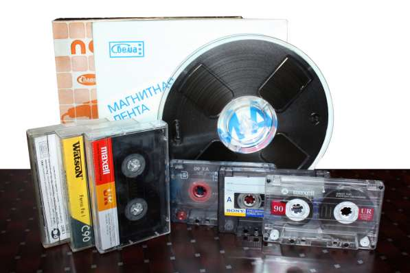 Оцифровка любых видеокассет, аудиокассет, бобин и др в Тольятти