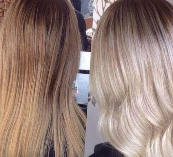 Окрашивание волос любой сложности