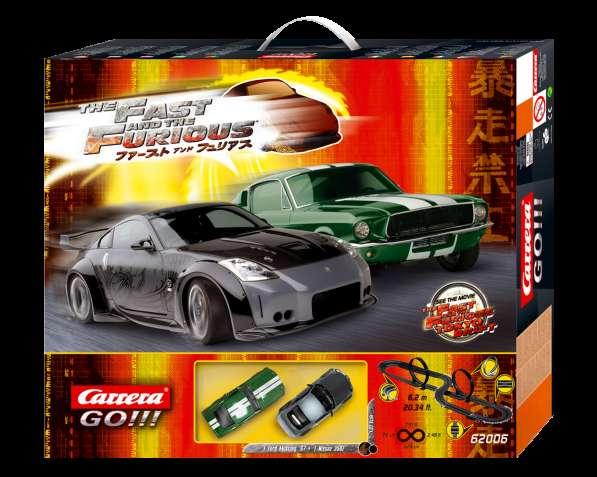 Автотрек Carrera GO. 1/43 Форсаж - Токийский дрифт