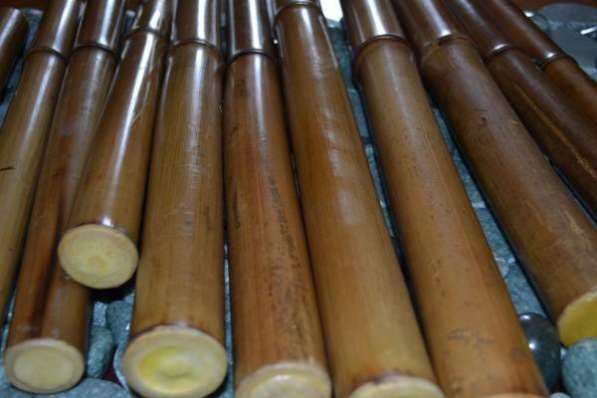 Бамбуковые палочки, веники, камни, гуаша для массажа в Москве