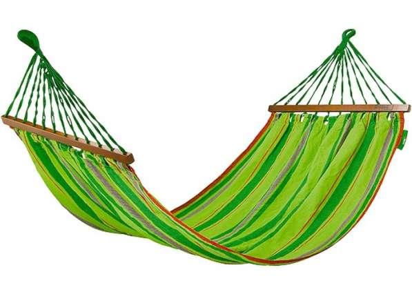 ГАМАК 200*100см с деревянными планками PALISAD Camping