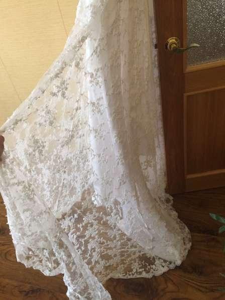 Эксклюзивное свадебное платье в Мичуринске фото 3