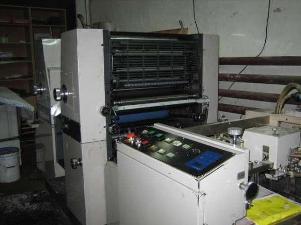 Печатная машина Ryobi 522, Бербек