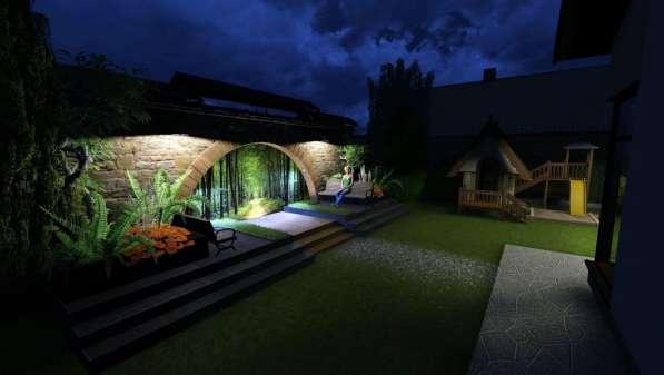 Ландшафтный дизайн в фото 11