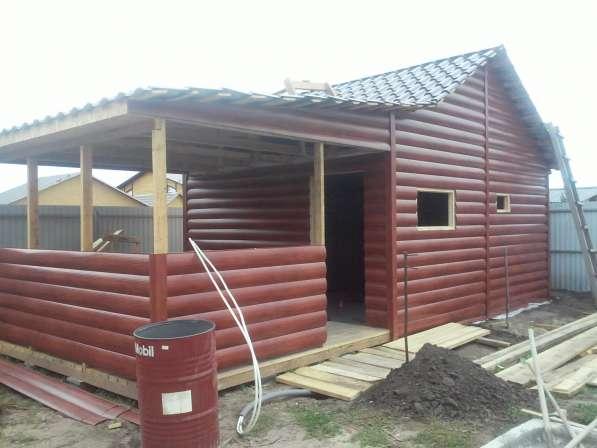 Строим каркасные и брусовые дома, бани