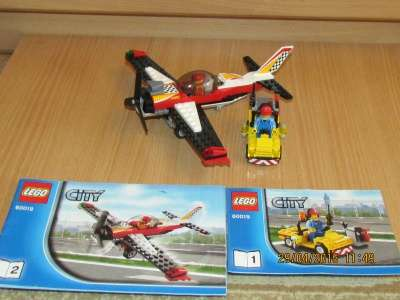 игрушку ЛегоСитиСамолёт высшего пилотажа