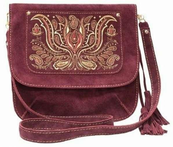 Эксклюзивные женские сумки ручной работы из льна,джинсы,кожи в Москве фото 6