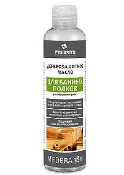 Деревозащитное масло для банных полков Medera 180