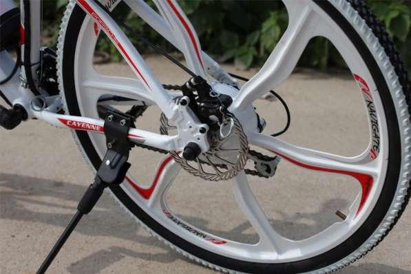 Электровелосипед Porshe 350W. Велосипед в фото 5