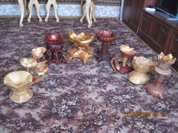 Коллекция вазочек ручная штучная работа сувель берёзы в Иванове фото 13