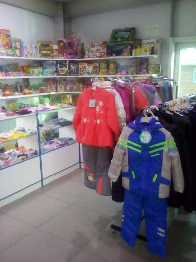 Отдел детской одежды в Томске