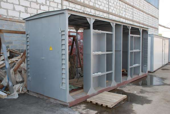 Утепленные блочно-модульные подстанции 2КТПНУ до 2500 кВА в Москве фото 3