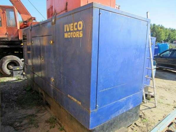 Дизель генератор IVECO CURSOR 250 кВа, 2007 г.