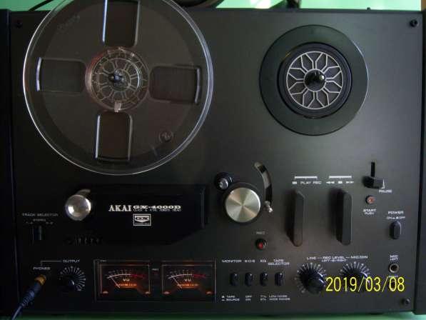 Магнитофон AKAI GX4000D бобинник, катушечный, Япония,220v в Екатеринбурге фото 12