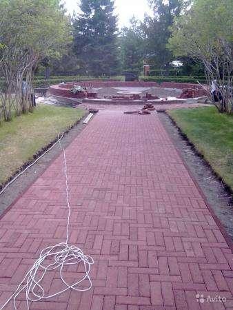 Укладка тротуарной плитки, асфальтирование территорий, благоустройство территории, земляные работы.