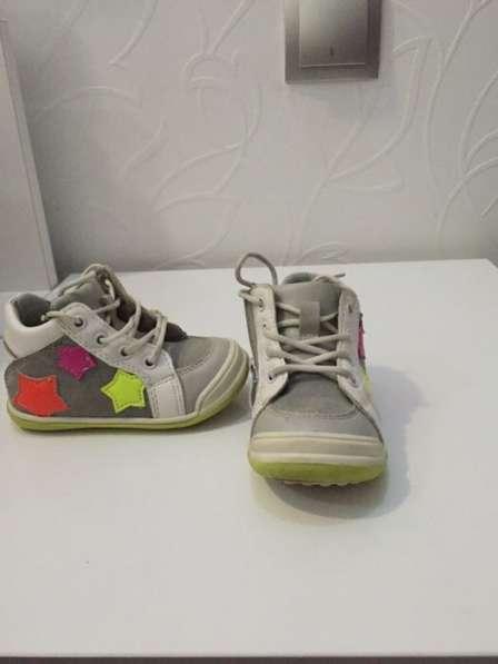 Детские ботиночки весна осень