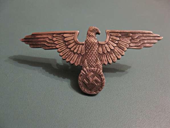 Эмблема и мертвая голова на фуражку эсэсовца (серебро) в фото 6
