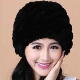 """Зимняя женская шапка """"Ночь"""""""