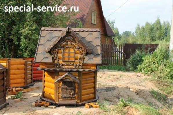 Домики для колодцев. Колодцы Можайск, Верея, Наро-Фоминск.